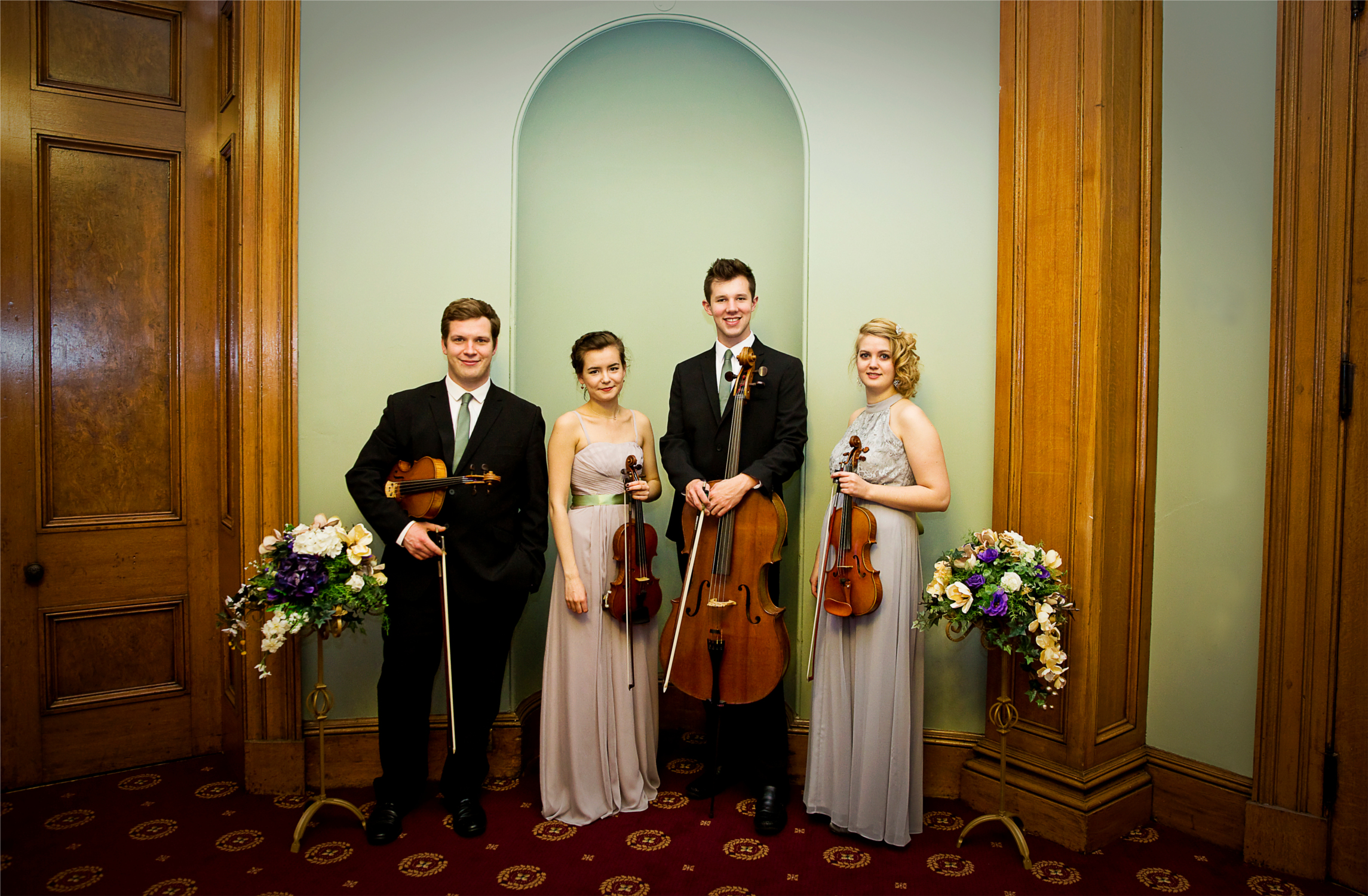 <h3>Rylands String Quartet </h3><p> Why have a string quartet at your wedding? <p/>
